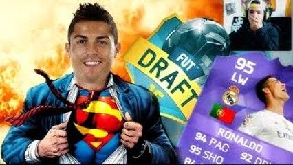 Cristiano Ronaldo Superhéroe en FIFA 16 - FUT DRAFT ONLINE