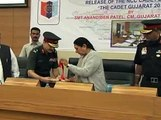Gandhinagar Gujarat CM launch Journal Cadet 2015 of NCC Cadets