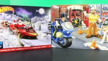 Hot Wheels & Fisher Price Imaginext Advent Calendar Surprise Toys Christmas Day 6