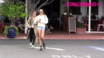 Sofia Richie & Isabella Peschardt Run From Paparazzi At Fred Segal 7.21.15 TheHollywoodFix