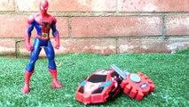 SpiderMan super car spider man Marvel comics red roar car