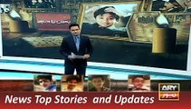 ARY News Headlines 15 December 2015, Tribute to APS Student in Peshawar