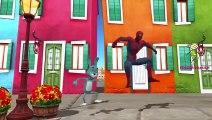 Spiderman Cartoons I Went To School One Morning Nursery Rhymes | Spiderman I Went To Schoo