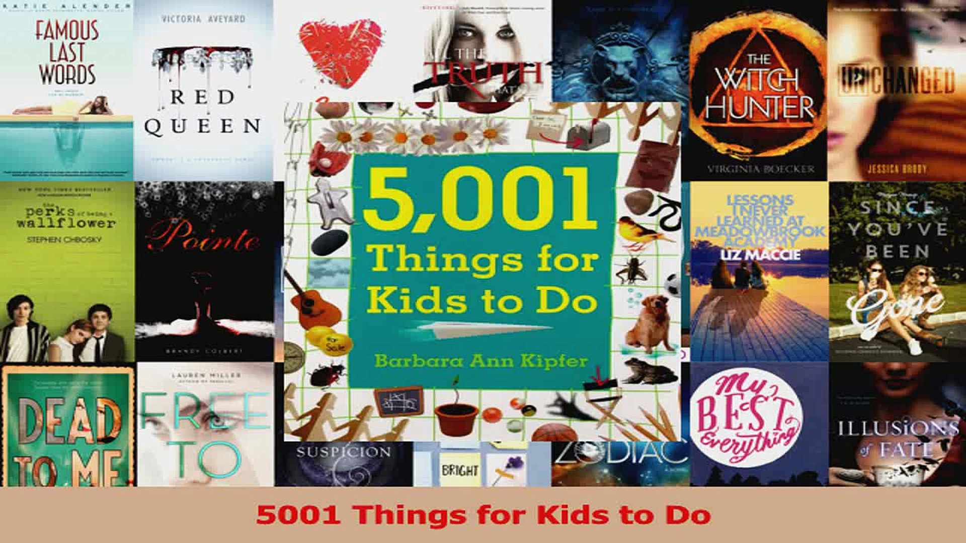5001 Things for Kids to Do PDF