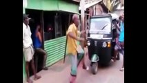 Funny Old Man Showing His Dancing Style - Incredible Street Dance - Indias Street Talent