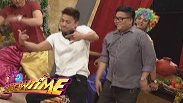 It's Showtime: Jhong and Jugs dance showdown