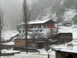 valley of Malam Jabba Snowfall