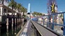 building California Screamin' Roller Coaster Front Seat POV Disneyland California Adventure2015 #5