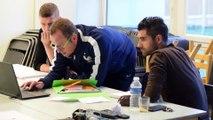 Formation : Ludovic Butelle et Olivier Auriac (Angers SCO) formés au Brevet d'Entraîneur de Football