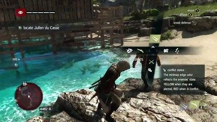 Assassins Creed 4 Black Flag Gameplay Walkthrough Part 4 - Lets Play (Xbox 360/PS3/PC)