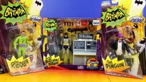 Batman Classic Tv Series With To The Batcave Batman Riddler And Penguin With Collector Car