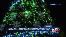 Jaffa s'illumine pour les festivités de Noel