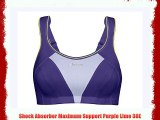 Shock Absorber Maximum Support Purple Lime 38E