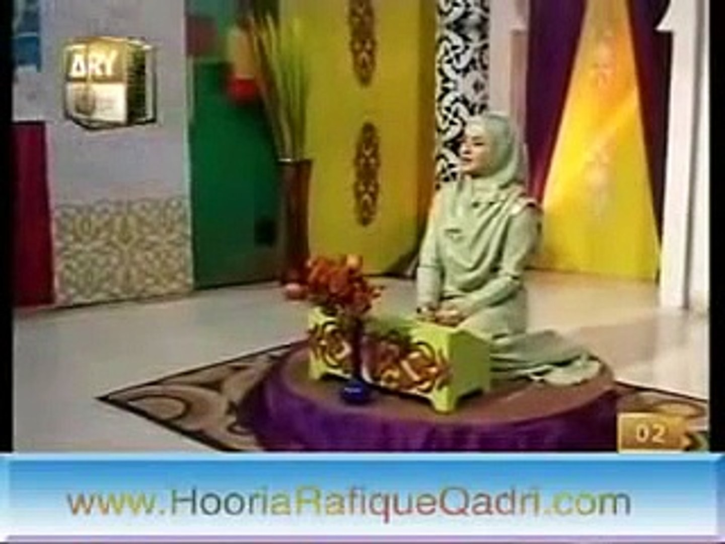 Maula Maula Mola Mere Mola   Hooria Fahim Latest Video Hamd 2012