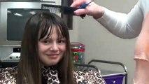 Cut Blunt Bangs into Long Hair | Easy Hairstyles Hair Style Full HD ★ tutorial step by step ★