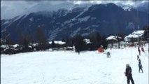 Le Tire fesse au ski - téléski Sport d'hiver