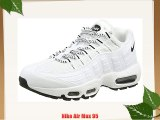 Nike Air Max 95 Men's Trainers White (White/Black/Black) 11 UK (46 EU)