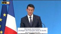 """Valls: """"l'extension de la déchéance de nationalité à tous les bi-nationaux"""" soumise au Parlement"""