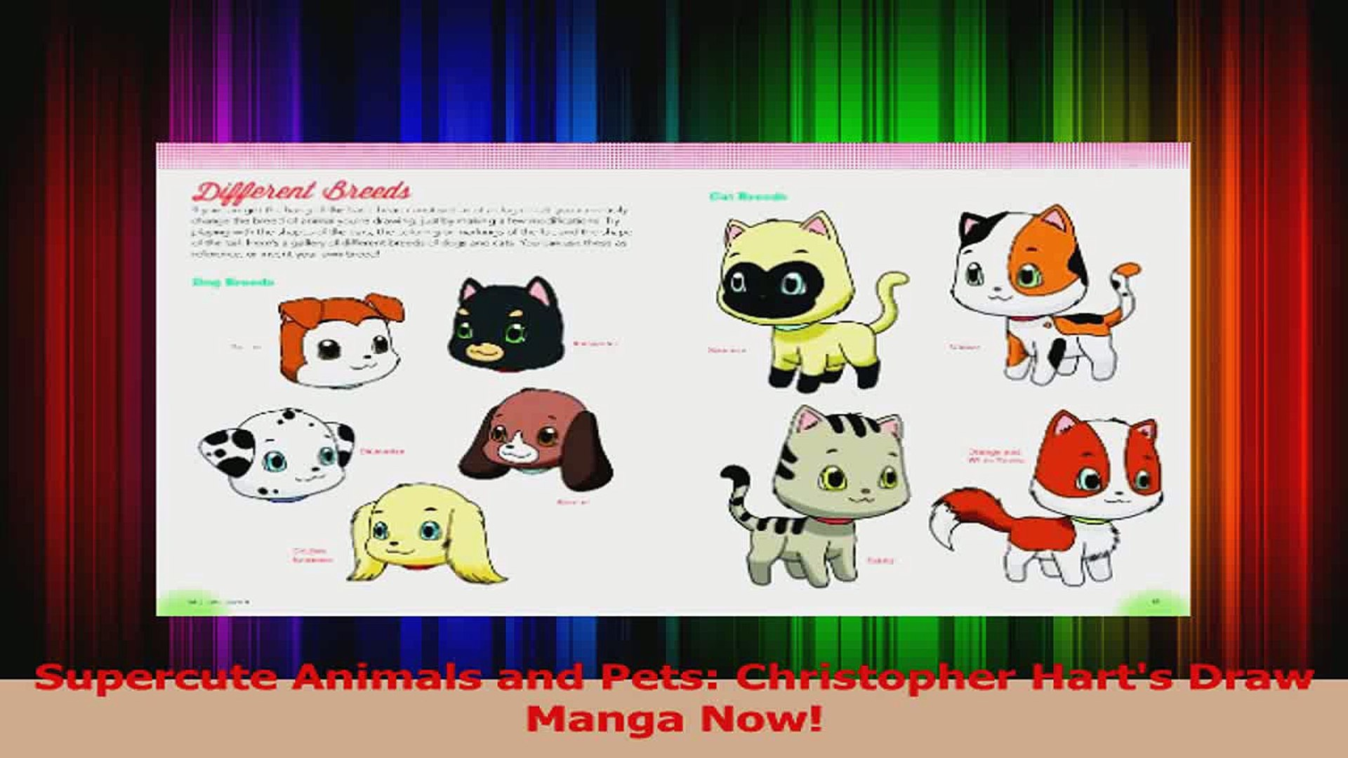 PDF Download  Supercute Animals and Pets Christopher Harts Draw Manga Now Download Full Ebook