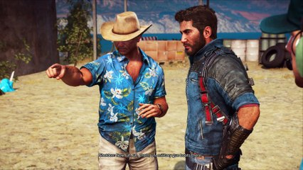 Of Cows and Wine. Connecting the Dots story mission Just Cause 3