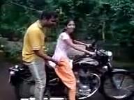 lady riding bike funny – YouTube