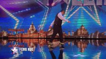 Roller dancer Feng Xue is going round in circles | Britains Got Talent 2015