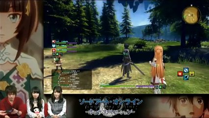 Gameplay Noel 2015 de Sword Art Online: Hollow Realization