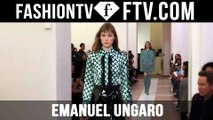 First Look at the Emanuel Ungaro Spring 2016 Runway Show Backstage in Paris | FTV.com