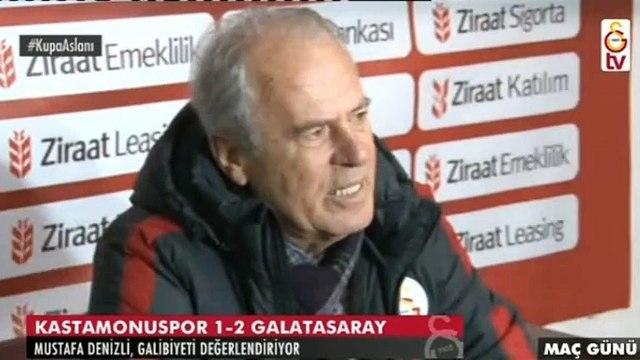 Kastamonuspor-Galatasaray 1-2 | Maç sonu Mustafa Denizlinin basın toplantısı (23 Aralık 2015)