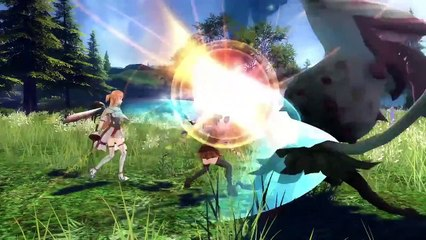 Trailer d'annonce [EU] de Sword Art Online: Hollow Realization