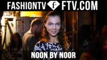 Noon by Noor Spring 2016 Makeup New York Fashion Week | NYFW | FTV.com