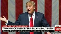 Meurtres de journalistes : Donald Trump défend Vladimir Poutine - ZAPPING ACTU DU 23/12/2015