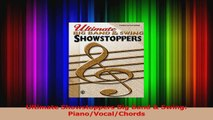 Read  Ultimate Showstoppers Big Band  Swing PianoVocalChords Ebook Free