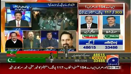 MQM�s Mian Ateeq Ran Away From Show After Hamid Mir Hard Questions