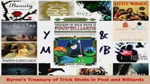 PDF Download  Byrnes Treasury of Trick Shots in Pool and Billiards Download Online