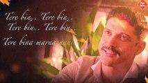 """Tere Bin"" Lyrical Video Song | Wazir | Farhan Akhtar, Aditi Rao Hydari | Sonu Nigam, Shreya Ghoshal Fun-online"