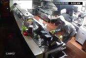 Un restaurant de tacos ridiculise trois voleurs en détournant un cambriolage