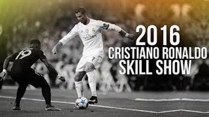 Cristiano Ronaldo - Crazy Skill Show 2016   HD