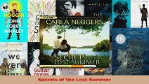 Read  Secrets of the Lost Summer EBooks Online