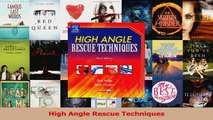 PDF Download  High Angle Rescue Techniques Download Full Ebook
