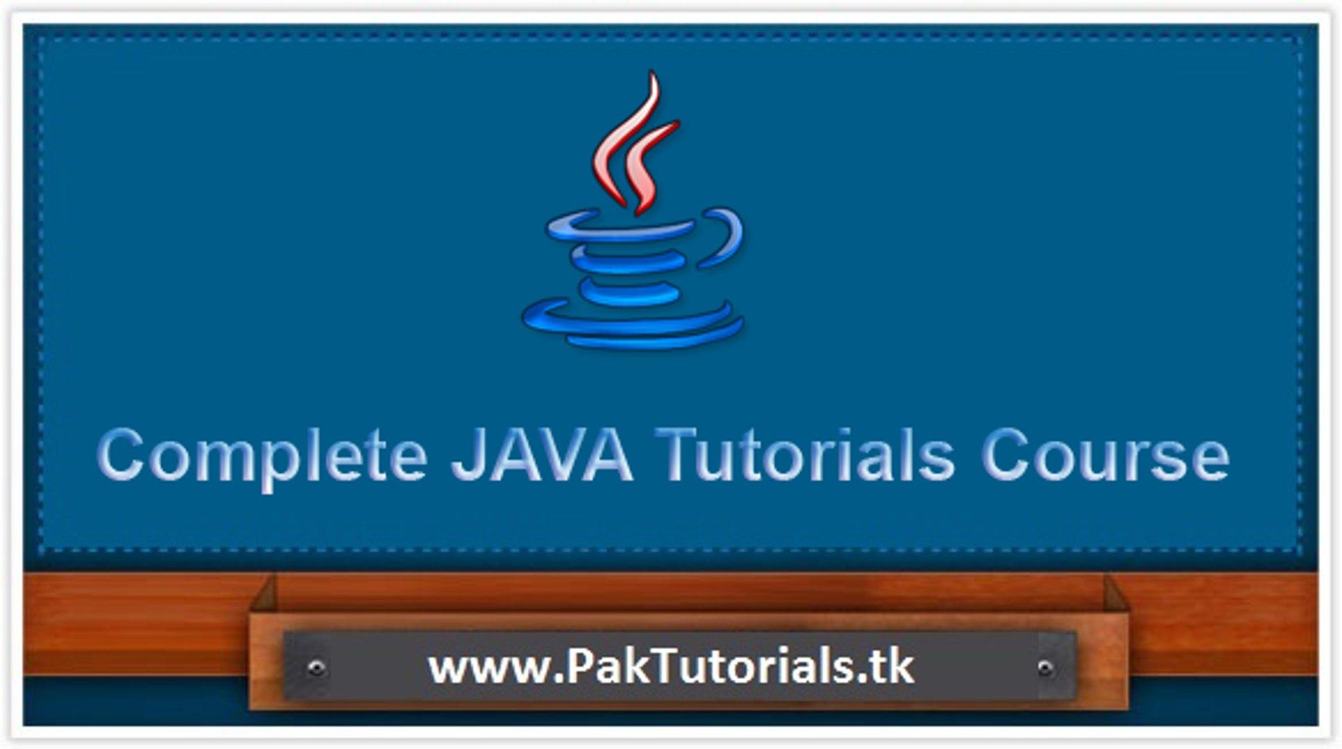 java tutorial 35.B thread programming in java urdu hindi tutorial-PakTutorials.tk