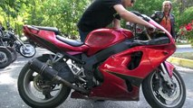 SC Project exhaust sound with/without Baffle (Kawasaki Z800