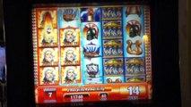 ZEUS II Penny Video Slot Machine with BONUS, SUPER RESPINS and a BIG WIN Las Vegas Casino