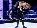 WWE Super SmackDown 22-12-2015 Dean Ambrose vs Ziggler vs Kevin Owens Intercontinental Championship