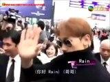 Rain Jung Ji-Hoon 在香港 機場 2015年12月4日。