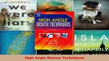 Download  High Angle Rescue Techniques PDF Online