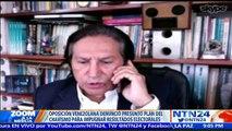 Debate Zoom: Polémica en Venezuela por los supuestos planes del oficialismo para impugnar elecciones del '6D'
