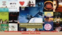 Download  Mountaineering Freedom of the Hills 8th egith edition Text Only Ebook Free