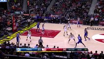 Richaun Holmes Posterizes Al Horford   Sixers vs Hawks   December 16, 2015   NBA 2015-16 Season