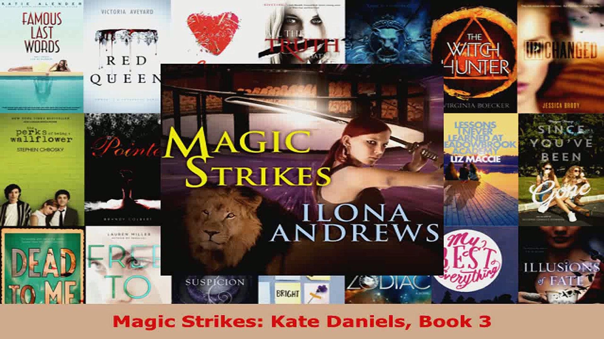 Download Magic Strikes Kate Daniels Book 3 PDF Free